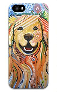 Cute Dog Design for Iphone 5 5S Case