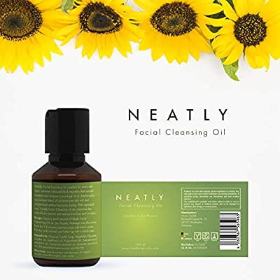 NEATLY I - Aceite limpiador facial de 100 ml I desmaquillante I ...