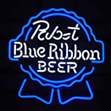 Pabst Blue Ribbon Beer Bar Handcrafted Neon Light Sign 19x15