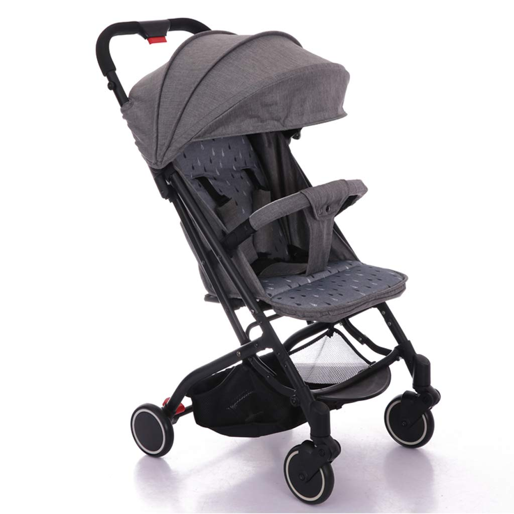 Strollers Baby Lightweight Strollers Folding Portable Traveling Pram for Newborns Summer Winter Baby Carriage Trolley (Color : A)