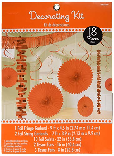 Amscan Party Decorations, Paper & Foil Decorating Kits,