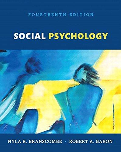 Social Psychology Book Pdf