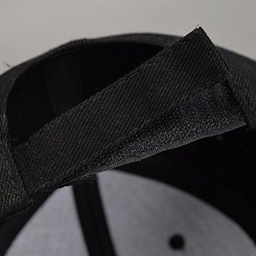 Acvip unico Colore da 4 Unisex per Nero Berretto Cappello baseball Unisex colori RaIwC8q