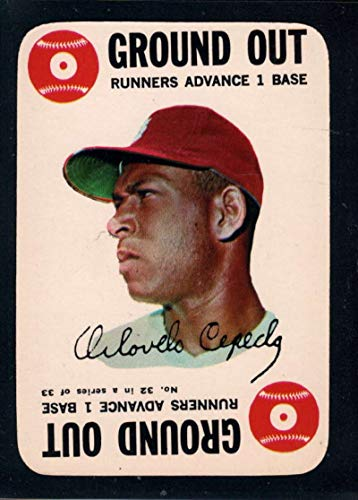 Baseball MLB 1968 Topps Game #32 Orlando Cepeda - Topps 1968 Game
