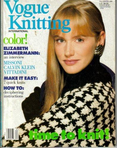 Vogue Knitting International - Fall/Winter 1988
