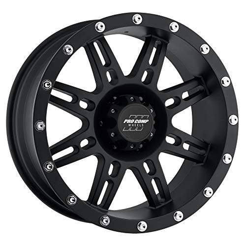 PRO COMP Series 31 Stryker Matte Black (16x8 / 6x5.5 / -6mm) ()