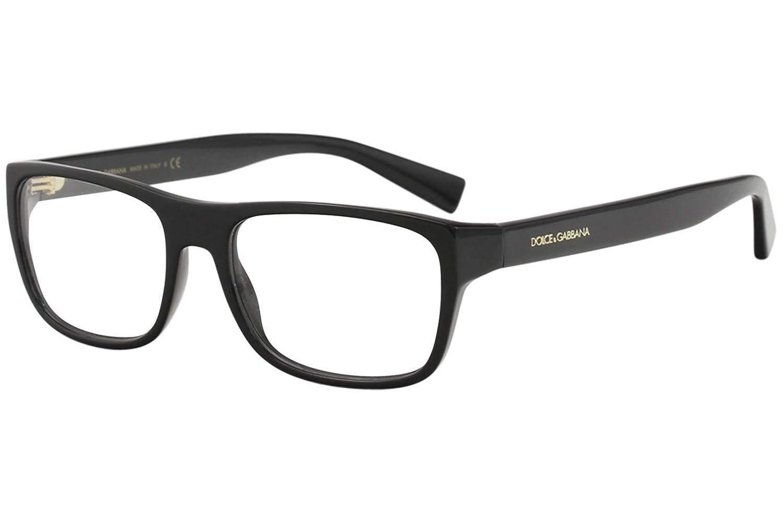 ed383820357 Amazon.com  Dolce Gabbana DG3276 Eyeglass Frames 501-54 - Black  DG3276-501-54  Clothing