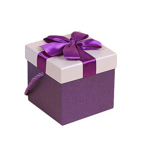 Wa 1X Cajas Galletas Cajas de Regalo Dulces de Boda para Regalos Recuerdos de