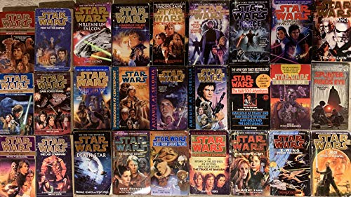 Star Wars Prequel and Sequel Novel Collection 27 Book Set ()