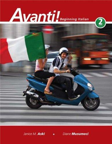 Download Avanti!: Beginning Italian Pdf