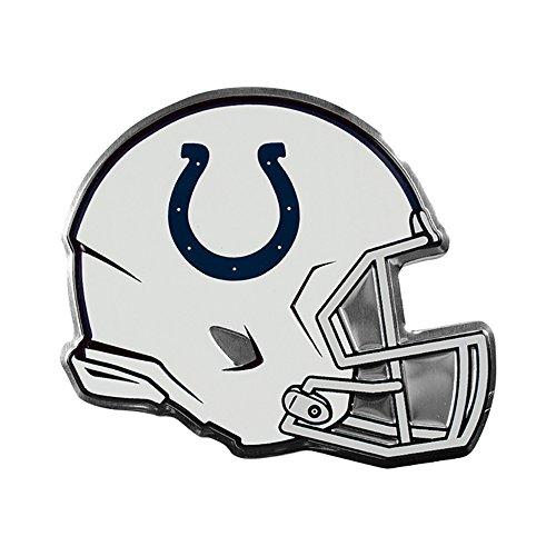 Indianapolis Colts NFL Sports Team Logo Car Truck SUV Motorcycle Trunk 3D Helmet Die-Cut Color Premium High Quality Aluminum - Indianapolis Outlet Premium