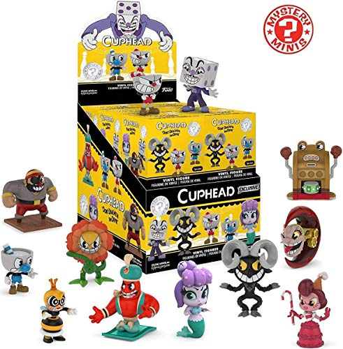 Funko Mystery Minis: Cuphead Collectible Figure Blind Box (Pack of 3)