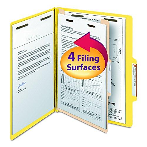 Smead Classification File Folder, 1 Divider, 2