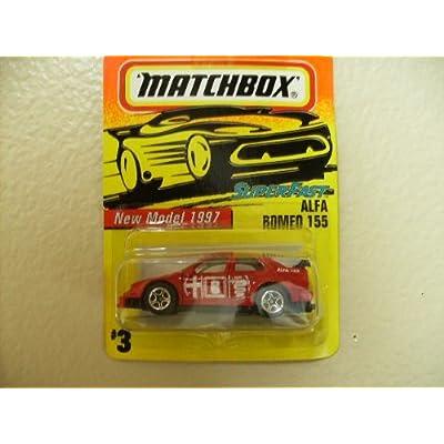 Matchbox Alfa Romeo 155 1997 Superfast: Toys & Games