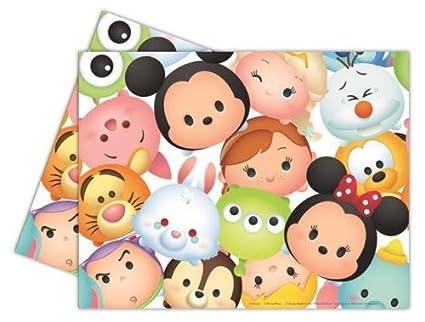 Procos Disney – Peluche Tsum Tsum de fiesta de plástico mantel de