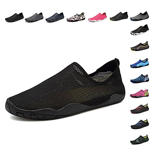 CIOR Water Shoes Men Women Aqua Shoes Barefoot Quick-Dry Swim Shoes with 14  Drainage Holes for Boating Walking Driving Lake Beach Garden Park Yoga 9b4b0a46c