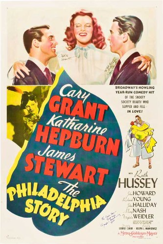 The Philadelphia Story Movie Poster   Style B -