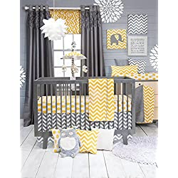 Glenna Jean Sweet Potato Boy's Crib Bedding Set, Swizzle, 3 Piece