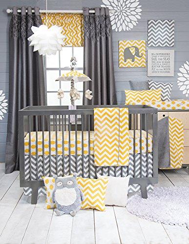 Sweet Potato Crib Bedding Set, Swizzle, 3 Piece - Glenna Jean Velvet Crib Skirt