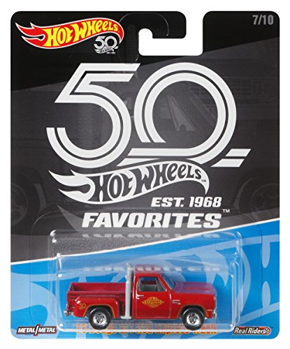 Hot Wheels 50th Anniversary Favs 78 Dodge Lil Red Express Truck (Express Wheels)