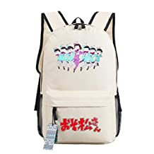Laptop Backpack School Bag Back for Anime Osomatsu-san Specials Matsuno Ichimatsu Birthday Gift
