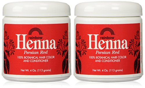 Rainbow Research Henna, Persian Red, 4 oz./2 Piece (Henna Hair Color Red compare prices)