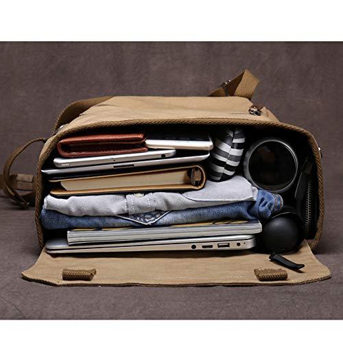 Studente Da Universitario Unisex 15 Laptop Borsa Zaino Tela Adatto 29 Pollici 6 15 Khaki Zaino A darkblue Casual Viaggio 45cm In Mingda 5Xwqvzx