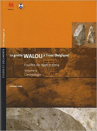 En ligne téléchargement gratuit La grotte de Walou à Trooz (Belgique) pdf, epub