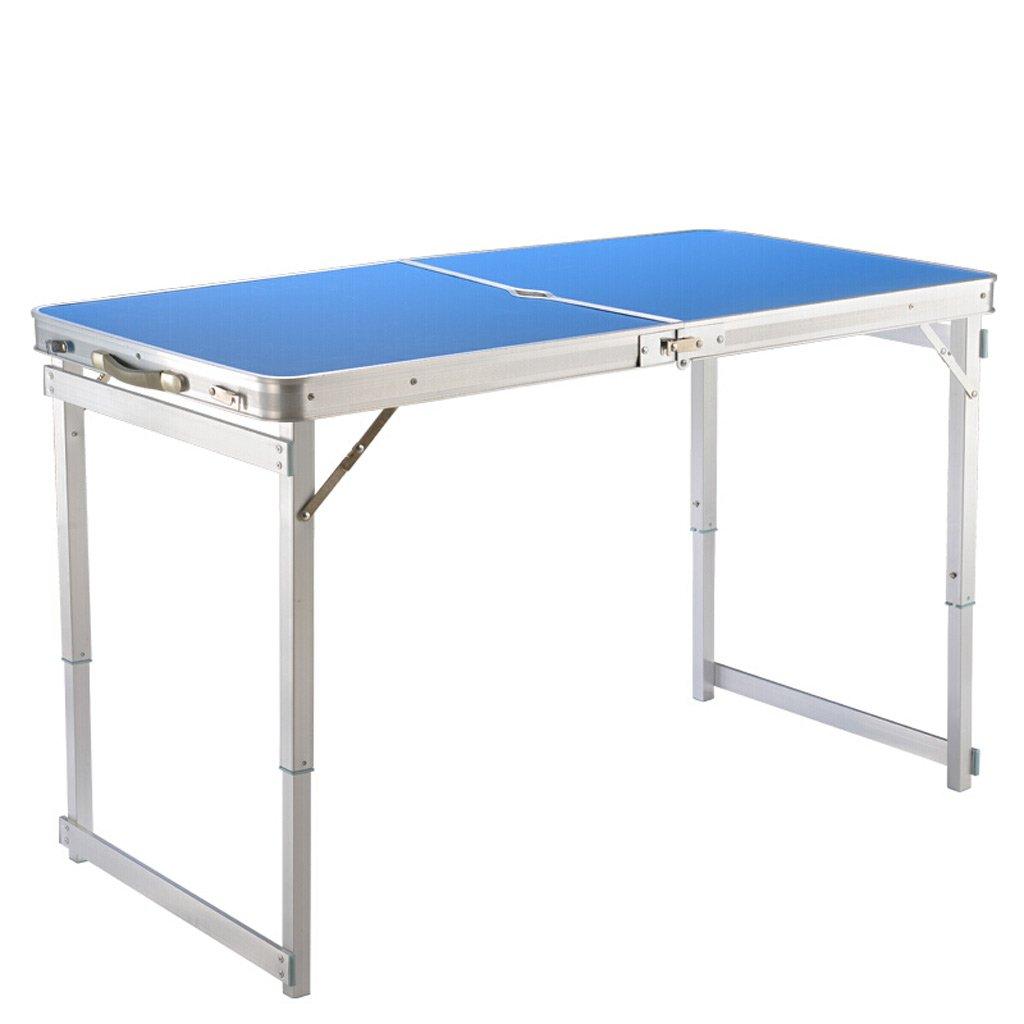 ずっと気になってた TangMengYun : 屋外の折りたたみテーブルポータブルテーブルの高さ調節可能なアルミニウム合金の折り畳みテーブルバーベキューテーブルのテーブルダイニングテーブル (Color : Blue, サイズ : TangMengYun 120 サイズ*60*75CM) 120*60*75CM Blue B07DLWRZXK, PECOTI(ペコチ):abebc33b --- diesel-motor.pl