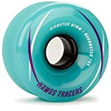 Landyachtz Hawgs Tracers Longboard Wheels - 67mm 78a Teal by Landyachtz