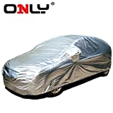 ONLY® Innovative Car Cover - Completed Within a Minute, Waterproof, Cotton, Automobiles All-weather Series Y for SUV, Applicable Models: Acura MDX , AcuraZDX , Audi Q7, BMW X5, BMW AC Schnitzer ACS5, Buick Enclave, Buick GL8, Cadillac SRX, Dodge Journey, Ford Expediton, Ford Explorer, Infiniti JX, Infiniti QX60(JX), Infiniti QX80(QX)QX56, Jeep Grand Cherokee, Jeep SRT8, Kia Borrego, Land Rover Discovery 4, Range Rover, Lexus LX, Lincoln MKX, Mazda CX-9, Mercedes Benz GL, Benz ML, Benz R, Mitsubishi Pajero, Nissan Quest, Nissan Tourle, Porsche Cayenne, Ssangyong Rodius, Seat Alhambra, Toyota Sequoia, Volskwagen Routan, Volvo XC90, Etc. (Y-50 Length 192'' to 206'')