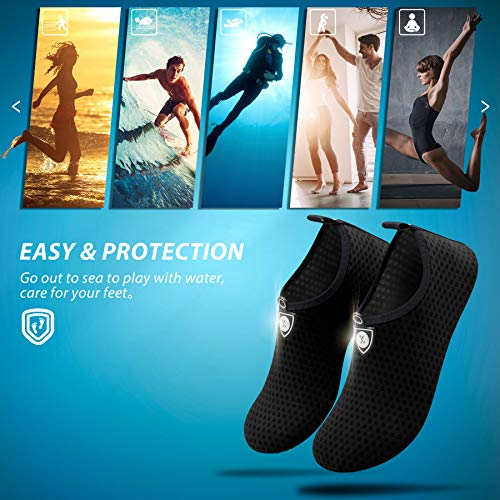 SIMARI Womens and Mens Water Shoes Quick-Dry Aqua Socks Barefoot for Outdoor Beach Swim Surf Yoga Exercise SWS001 6