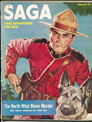 Saga 2/1952-RCMP-Mounties-Guadalcanal-Good Girl art-Bill Wenzel-G- ()