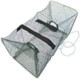 Foldable Fishing Net Trap and Dip Drift Shrimp Net Cage Crab Trap Crawfish Lobster Shrimp Collapsible Cast Net