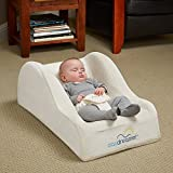 Baby : hiccapop Day Dreamer Sleeper Baby Lounger Seat for Infants - Travel Bed - Bassinet Alternative, Cream