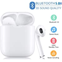 Bluetooth Kopfh/örer 5.0 Headset Stereo-Minikopfh/örer Sport Kabellose Bluetooth Kopfh/örer-1025 GHJALL Bluetooth Kopfh/örer in Ear