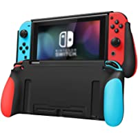 Taisioner Nintendo Switch TPU Protective Case And Silicone Console Handle Grip Material Changeable for Nintendo Switch