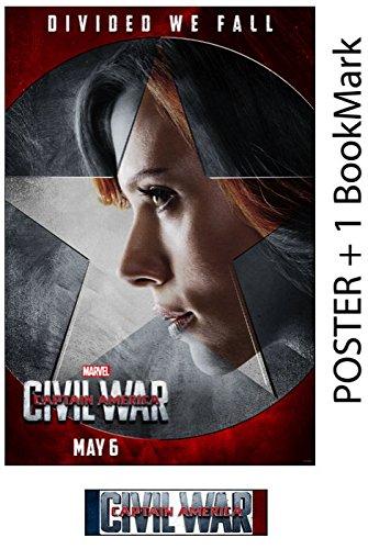 BLACK WIDOW - Captain America: Civil War - Movie Poster, Siz