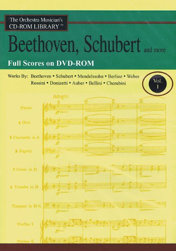 Orchestra Musician's CD-ROM Library Vol. 1 Scores Beethoven Schubert And More pdf epub
