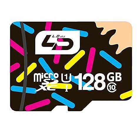 Calli LD - Tarjeta Micro TF SD para teléfono móvil (128 GB ...