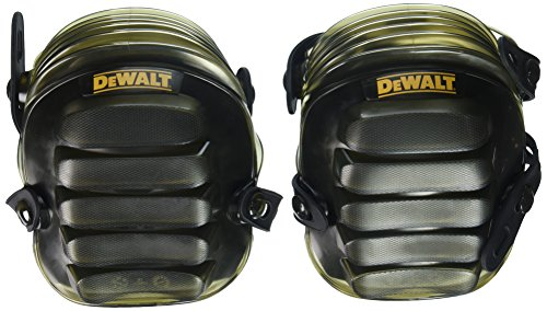 Gel Pads All Terrain Knee (DEWALT DG5217 All-Terrain Kneepads with Layered Gel Padding with Full Size, All Terrain Cap)