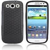 Schutzhülle für 3300mAh Akku-King Power Akku - Samsung Galaxy S3 GT-i9300, S3 LTE i9305 - schwarz