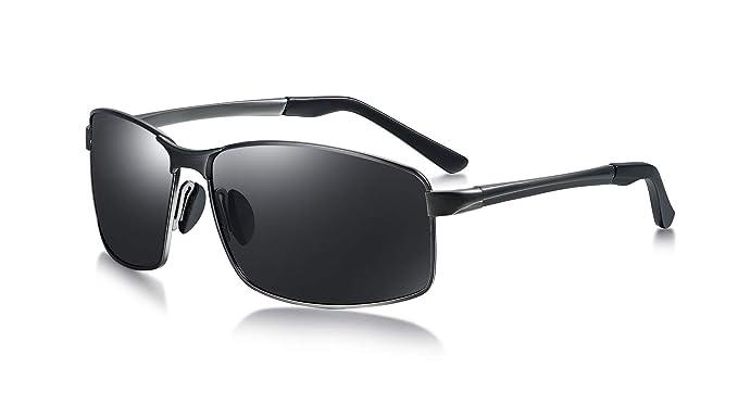 Ciclismo LZXC Gafas de Sol Polarizadas Para Hombre con Montura Ultraligera Protecci/ón UV400 Para Conducir