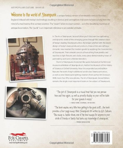 The Art of Steampunk, Revised Second Edition: Extraordinary Devices and Ingenious Contraptions from the Leading Artists… 4