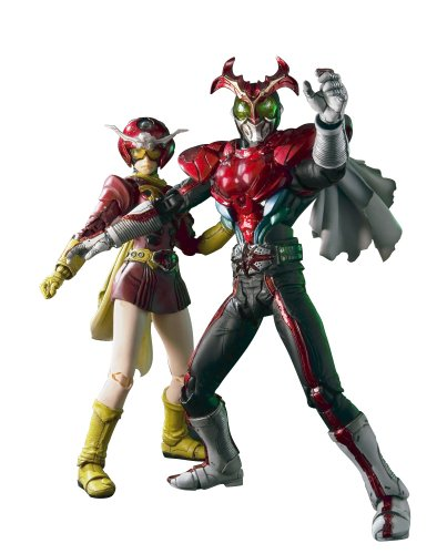 S.I.C. Vol. 55 Masked Rider Stronger & Tackle Action Figure Set (Kamen Rider)