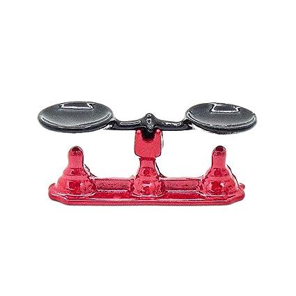 Amazon Com Odoria 1 12 Miniature Vintage Red Balance Scale For Lab