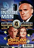 4 Great Action Adventure Movies: Casablanca Express, Battleforce, the Inside Man, the Opium Connection.