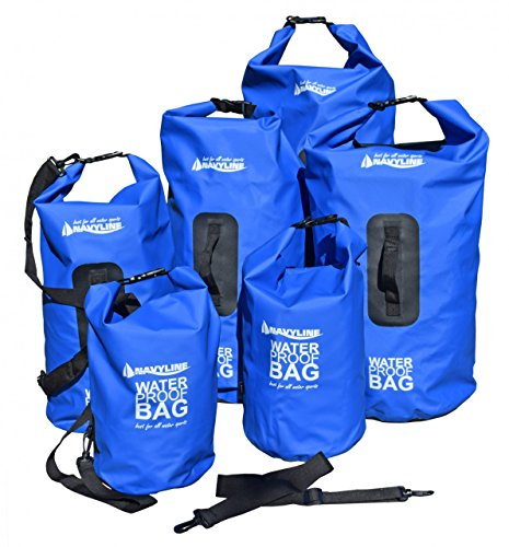 Navyline Dry Bag - Borsa a rotolo impermeabile da 10 a 60 litri, Volumen-Liter:30 l