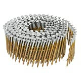 Metabo HPT 13362HPT 1-1/2-Inch x 0.092-Inch Collated Wire Coil Siding Nails, Full Round-Head, Ring Shank, Hot-Dipped Galvanized, 3600-Pack