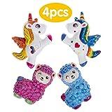 Ailimy Squishies 4 PCs Slow Rising Cute Sheep / Unicorns...